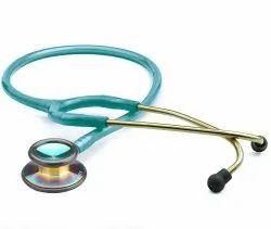 Double Sided Cardiology Stethoscope, Polished, Floating