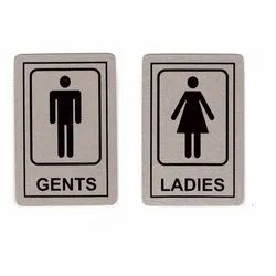 Aluminum Toilet Sign Boards