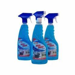 Vital Ultra Shine Blue Glass Cleaner, Packaging Type: Bottle