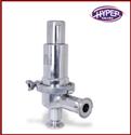 Hyper Stainless Steel Tri Clover Pressure Relief Valve