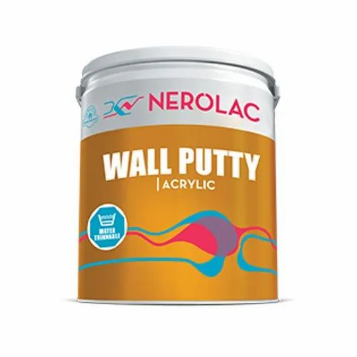 White Nerolac Acrylic Wall Putty For Interior Packaging Type Bucket Rs 1120 Kilogram Id 21426883573