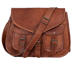 Ladies Leather Bag, Vintage Leather Bag, Cross Body Bag, Shoulder Bag, Ladies Purse, Sling Bag