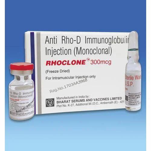 Anti Rho-D Immunoglobulin (Monoclonal) Injection