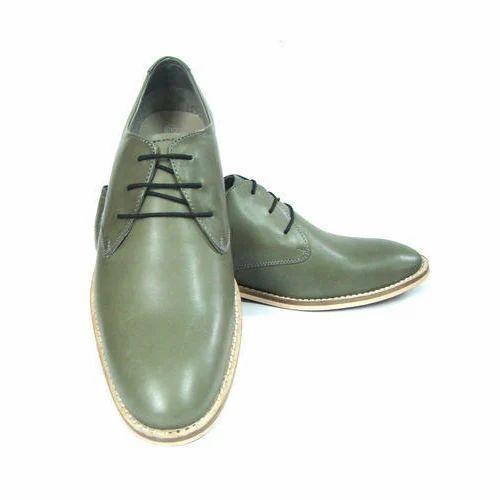 Men Derby Shoes Leather Derby Shoes