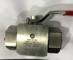 Stainless Steel Hydraulic Ball Valve