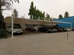 PVC Tensile Car Parking Shed