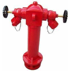 Red Cast Iron Fire Hydrant Stand Pipe