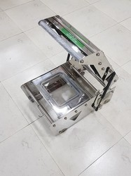 Rectangular Tray Sealing Machine