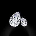 Pear Cut DEF Moissanite Diamond