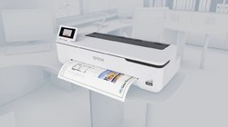 Epson T3130n Printers, 34 Seconds For A1