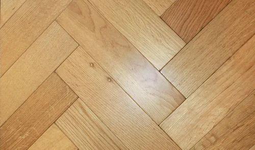 Herringbone Oak Engineered Wood Flooring For Indoor Thickness 13mm