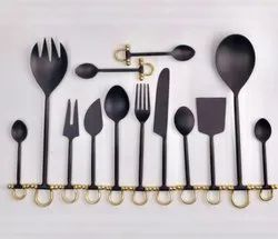 Black Cutlery, Flatware