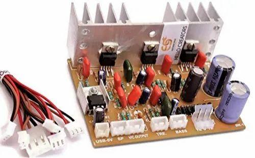 AUDIO AMPLIFIER CIRCUIT BOARD - 4440 IC DIY Audio Boards 40