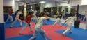 Fight Practice Martial Art Interlocking EVA Floor Mats 25 Mm Thick Inter Connecting Type