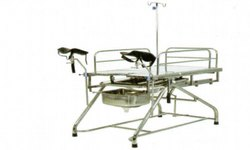 Kraft 302 Stainless Steel  Telescopic Obstetric and Gynaec Table