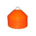 Orange Football Soccer Cones Marker Discs