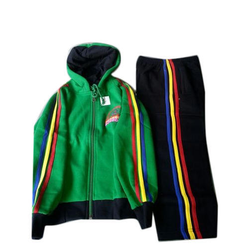 be2d84a4501 Cotton And Polyester Kids Tracksuit