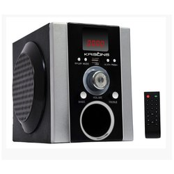 Black Krisons Ns003 Multimedia Speaker With Usb