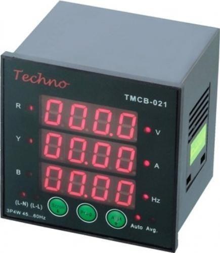 3 Phase Voltage Meter