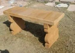 Stone Bench without backrest