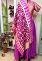 Party Wear Dress Set With Phulkari Stole