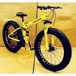 Yellow Land Lover Foldable Cycle