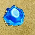 Sea Blue Agate Stone Coaster