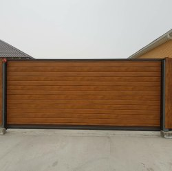 Stainless Steel & Mild Steel Automatic Sliding Cantilever Gate