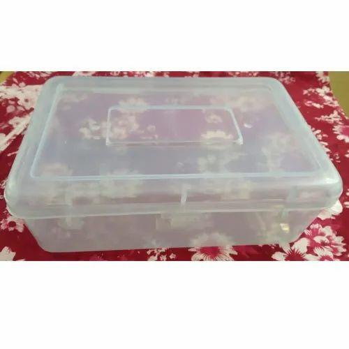 Mily Plastic Transpa Food Storage, Storage Box With Lock