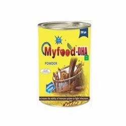 Myfood DHA Protein Powder, Packaging Type: Jar