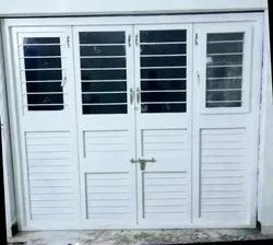 Four Folding French Doors