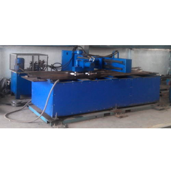 Rail roof arch bending machine