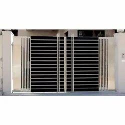 Aluminum Rectangular Iron Steel Door