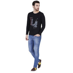Mens Full Sleeves Casual T Shirt