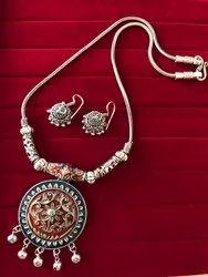 Artificial Meenakari Necklace Set
