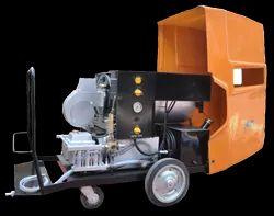 Aluminium And Brass Liquid Hot Water Jet Cleaning Machines