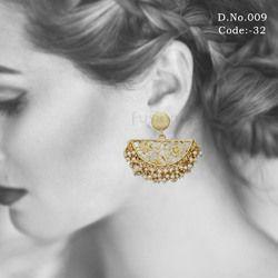 Traditional Designer Chandbali Earrings