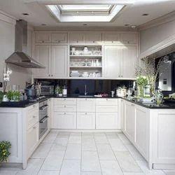 u shaped modular kitchen, modular kitchen - expert interiors