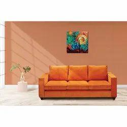 Bold Bella Wooden Volcano 3 Sealer Sofa, For Home, Hall