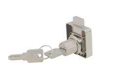 Zinc Drawer Lock, Satin