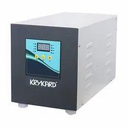 Automatic KryKard Servo Stabilizer, 190 To 250 V, Output Voltage: 220 V
