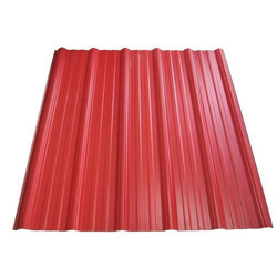 Red Corrugated Roofing Sheet