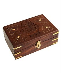 Polished Wooden Shesham Box, Size: 7x5, for Packaging
