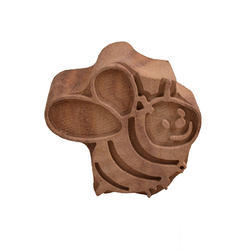 Bee Shape Wooden Printing Blocks