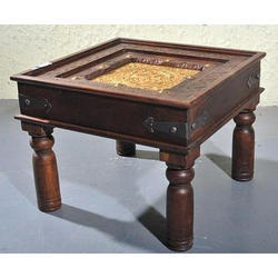 Antique Wooden Bed Side Table