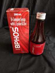 B-Complex Syrup with L-Lysine and Zinc Syrup