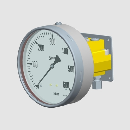 Differential Pressure Gauge For Gaseous And Liquid Media