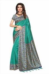 Mysore Silk Saree With Tessal