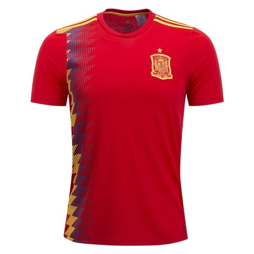 Polyester Half Sleeves ESP Spain Home Kit 18-19
