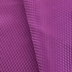 FDY PU Coated Diamond Weave Polyester Fabric